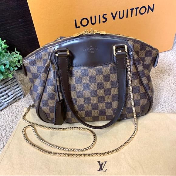 Louis Vuitton Handbags - Louis Vuitton Verona PM Damier Ebene Satchel Bag